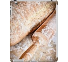 homemade organic bread  iPad Case/Skin