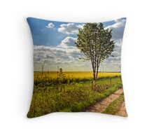 North Downs Way 8 Throw Pillow
