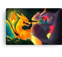 Dark Cave: Charizard Canvas Print