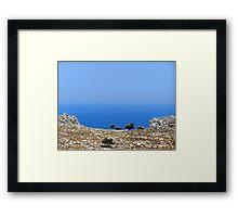 The Mediterranean Framed Print