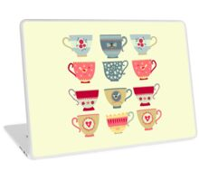 Tea Cups Laptop Skin