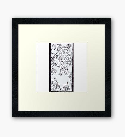 Mountain Pine Framed Print