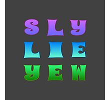 Sly Lie Yew Photographic Print