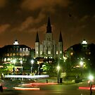 Jackson Square - New Orleans, Louisiana by Sophie Gonin