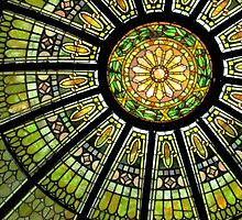 Stained Glass Dome by Darlene Lankford Honeycutt