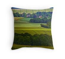 North Downs Way 10 Throw Pillow