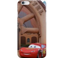 Disney Pixar Cars Lightning McQueen Sally Radiator Sprints iPhone Case/Skin