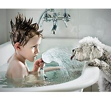 Shower Time Photographic Print