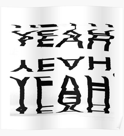 Yeah typography Poster