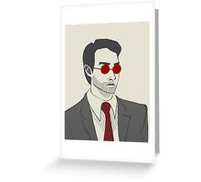I Am Not Daredevil Greeting Card