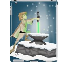 The Saber In The Stone iPad Case/Skin