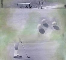 Golf III 20x16 Inches by Loren Ellis