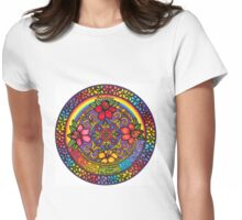 HAWAIIAN MANDALA     Womens Fitted T-Shirt