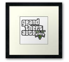 GTA Victim Framed Print