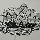 Lotus Adorned by Devi Senthil