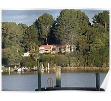 Strahan Tasmania Macquarie Harbour, Gordon river Poster