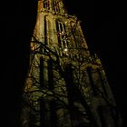 Utrecht Dom Tower, Christmas Eve by Kate Harriman