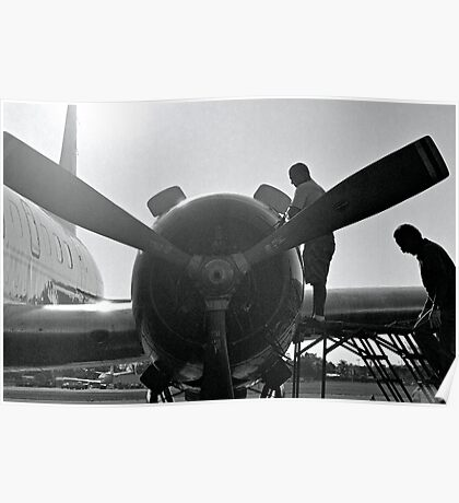 Engine Work Poster