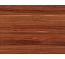 wooden brown pattern Photographic Print
