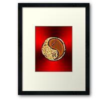 Sagittarius & Tiger Yang WOod Framed Print