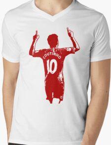 Coutinho Mens V-Neck T-Shirt