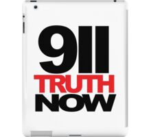 911 Truth Now iPad Case/Skin