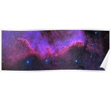 A starry nights dream through the galaxy Poster