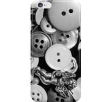 button collection iPhone Case/Skin