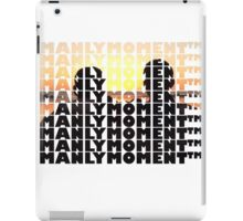 Manly Moments TM2 iPad Case/Skin