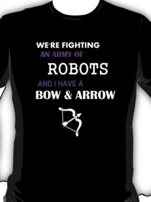 hawkeye keeping it real T-Shirt