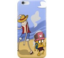 Adventure of time: One Piece iPhone Case/Skin