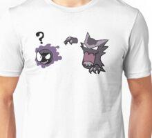 Haunter Uses Scary Face... Unisex T-Shirt
