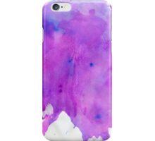 Purple Watercolour iPhone Case/Skin