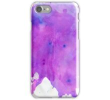 Purple Watercolour iPhone Case/Skin