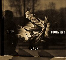 Reflecting on Duty, Honor and Country by Andy Mueller