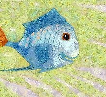 IF FISHES WERE WISHES, THEN THIS IS KISSES by Jean Gregory  Evans