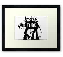 Star Wars Thug - ATAT Framed Print