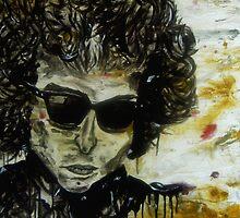 Bob Dylan by Enrique Gutiérrez