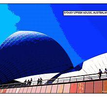 Sydney Opera House Comicography by djskinnylatte