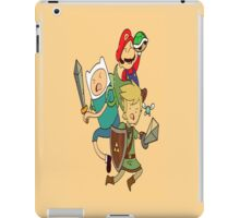 Adventure of time: Zelda iPad Case/Skin