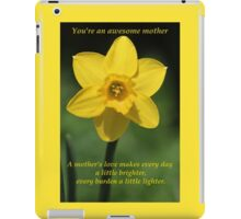 Awesome Mother iPad Case/Skin