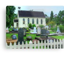 The little Church filled with history.......! Metal Print