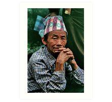 stillness. gangtok, sikkim Art Print