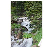 Natural Waterfall Poster