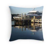 Reflections Strahan Tasmania Throw Pillow