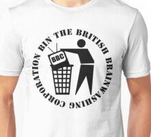 Bin The British Brainwashing Corporation Unisex T-Shirt