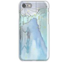 Night couple watercolor iPhone Case/Skin