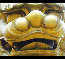 Chinese Lion by Nilla Haluska
