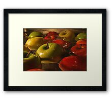 Apples.  Framed Print