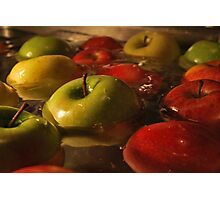 Apples.  Photographic Print